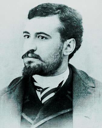 Vicent Blasco Ibáñez, als 23 anys.